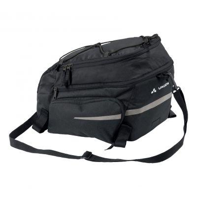 Sacoche porte-bagages Vaude Silkroad Plus fixation Snap-it 9+7 L Noir