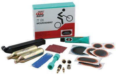 Kit de réparation VTT Tip Top TT06 + Cartouche CO2 (Boîte)