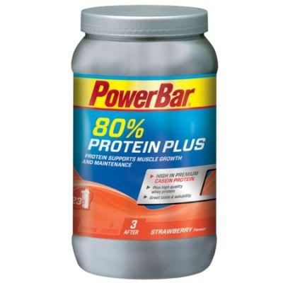 Boisson de récupération PowerBar ProteinPlus 80% Fraise 700 gr