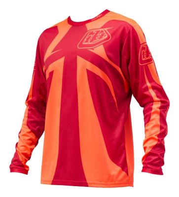 Maillot Troy Lee Designs Sprint ML Reflex Rocket Rouge
