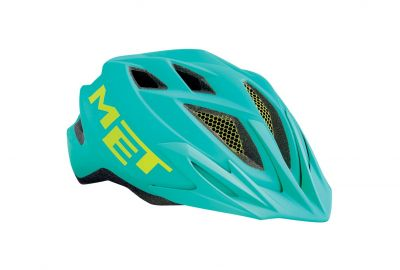 Casque junior MET Crackerjack Vert émeraude
