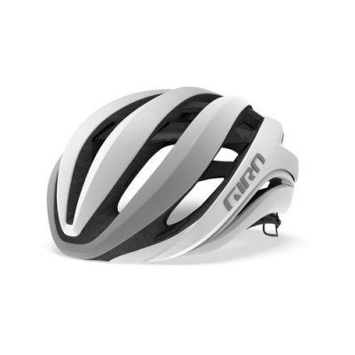 Casque Giro Aether MIPS Blanc Mat/Argent