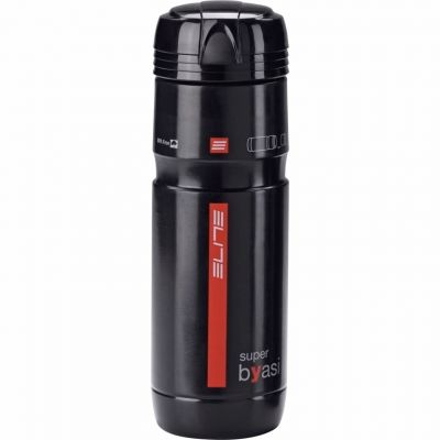 Bidon porte-outils Elite Superbyasi 750 ml Noir