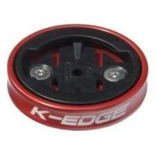 Support GPS k-edge gravity de capot de potence pour garmin rouge