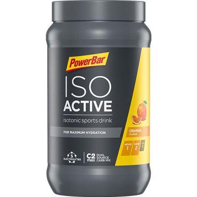 Boisson énergique Powerbar IsoActive 600 g Orange