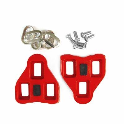 Cales pédales auto Roto compatibles Look Kéo 9 degrés Rouge