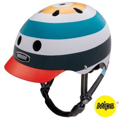 Casque enfant Nutcase Little Nutty MIPS Radio Wave