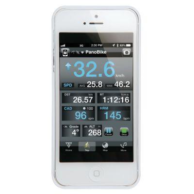 Housse et support de SmartPhone Topeak RideCase - iPhone 5 & 5S (blanc)