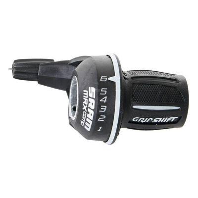 Poignée tournante SRAM MRX Comp 6V droite Noir