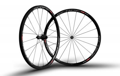 Roues Scope R3C 30 mm Campagnolo 11V Gris (Paire)
