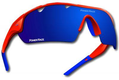 Lunettes Power Race Falcon photochromiques (5 verres) Rouge/Bleu