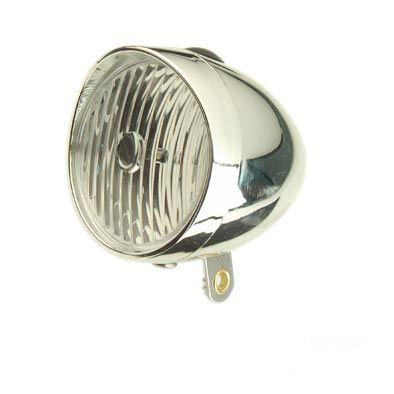 Éclairage AV Optimiz 1 LED À pile Style rétro Fix. garde-boue Argent