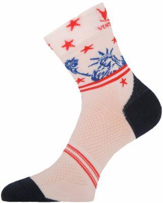 Chaussettes Ventura Socks Carbone Nation USA Statue de la Liberté