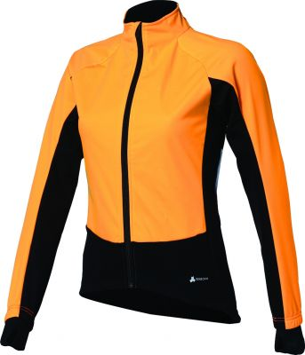 Veste hiver femme BBB WinterJacket Noir/Orange - BBW-173