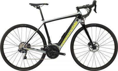 Vélo route électrique Cannondale Synapse NEO 2 Gris Sage/Jaune Volt
