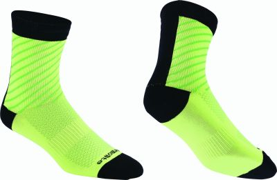 Chaussettes BBB ThermoFeet Noir/Jaune - BSO-17