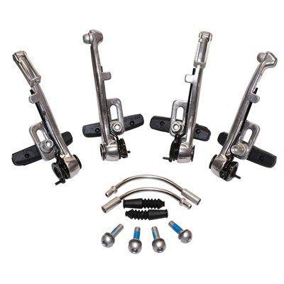 Étriers AV+AR Saccon V-Brake Argent