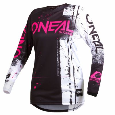 Maillot VTT O'Neal Element femme Jersey Shred Rose