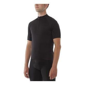 Maillot Giro Chrono Sport 1/2 zip Noir