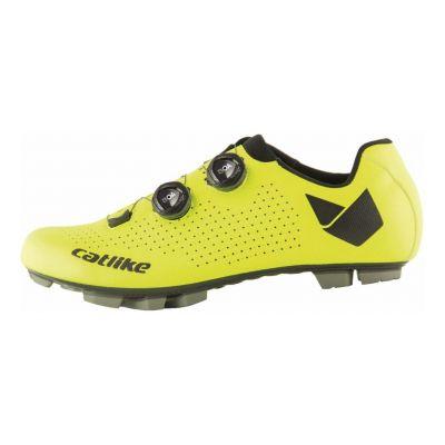 Chaussures VTT Catlike Whisper Oval Carbon Jaune