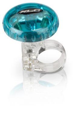 Sonnette XLC DD-M12 36 mm Bleu transparent