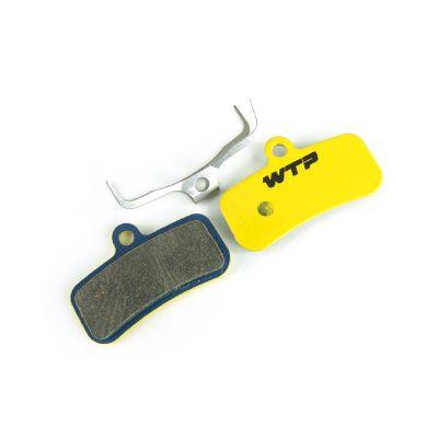 Plaquettes de frein vélo WTP compatibles Shimano Saint / Zee 4 pistons