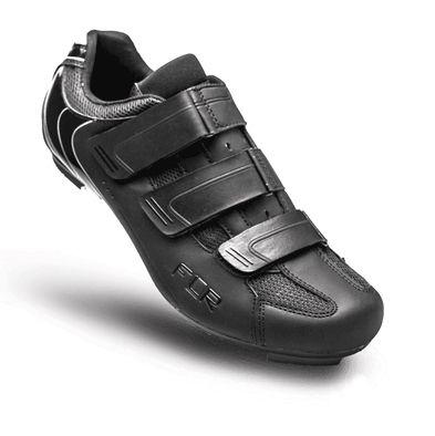 Chaussures Route FLR Pro F-35 3 Bandes auto agrippantes Noir
