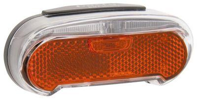 Éclairage arrière AXA LED Riff Steady Dynamo porte-bagages 50/80 mm