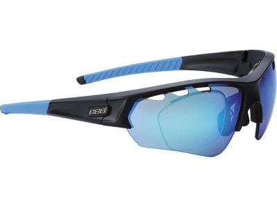 Lunettes BBB Select Optic Noir mat, verres bleus - BSG-51