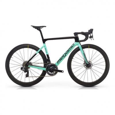 Vélo Route Megamo Pulse Elite AXS 01 Vert 2020