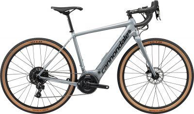 Vélo gravel électrique Cannondale Synapse NEO SE Gris Stealth/Noir Jet