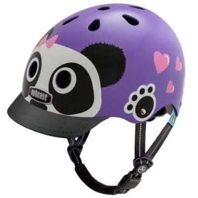 Casque enfant Nutcase Little Nutty Purple Panda