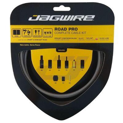 Kit complet câbles et gaines Jagwire Road Pro - Titanium RCK013