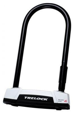 Antivol U Trelock BS 450 300/108 avec fixation latérale Noir/Argent