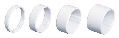 "Entretoises BBB LightSpace 1.1/8"" 5/10/15/20 mm Blanc - BHP-36"