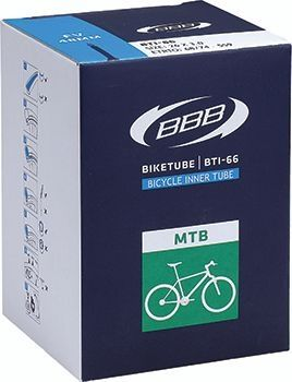 Chambre à air BBB Fatbike 26 x 3.00 Schrader - BTI-66F