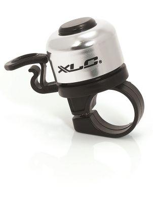 Mini sonnette XLC DD-M06 Diam. 33 mm Alu Argent