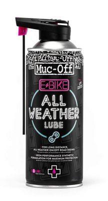 Lubrifiant chaîne Muc Off toutes conditions pour Ebike Spray 400 ml