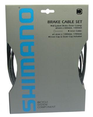 Kit câbles et gaine de frein Shimano Noir