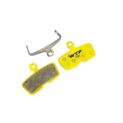 Plaquettes de frein vélo WTP compatibles Avid Code R Organiques