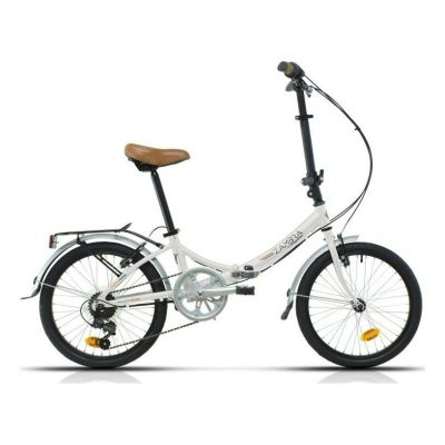 Vélo pliant Megamo Zambra 20'' Blanc 2020