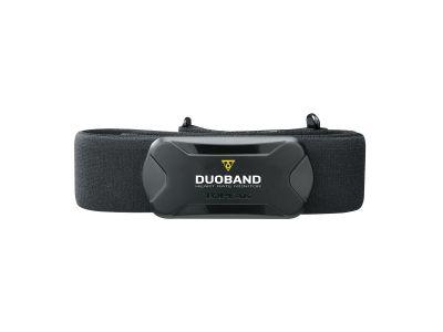 Ceinture cardio Topeak DuoBand Bluetooth Smart/ANT+ Noir