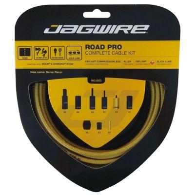 Kit complet câbles et gaines Jagwire Road Pro - Or RCK005