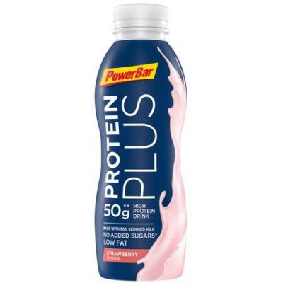 Boisson de récupération PowerBar ProteinPlus Sport Milk Fraise 500 ml