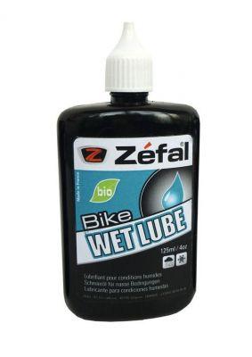Lubrifiant chaîne Zéfal Bio Wet Lube Conditions humides 125 ml