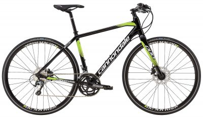 Vélo fitness Cannondale Quick Speed Disc 1 2016 Noir/Vert
