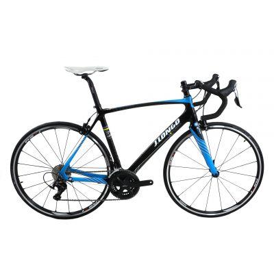 Vélo de route J.Longo Montello Carbone Bleu