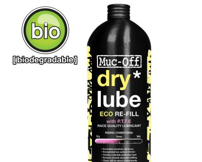 Lubrifiant chaîne Muc-Off Dry lube conditions sèches 1 L