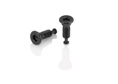 Boulons XLC BR-X74 pour adaptateur Flatmount M5x8 mm tête conique (Paire)