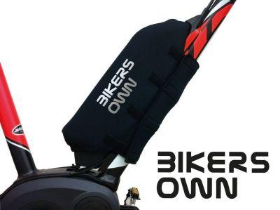 Protection batterie BikersOwn Case4rain Bosch Powerpack 300/400/500 (sur cadre) Noir